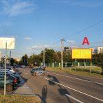 билборд по ул. Докутович между Полесской и Хатаевича