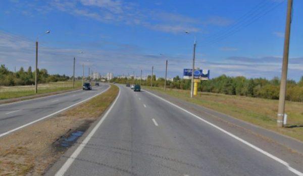 ул. Б.Хмельницкого — перед мостом в Новобелицу (щит 3х8м) (А)